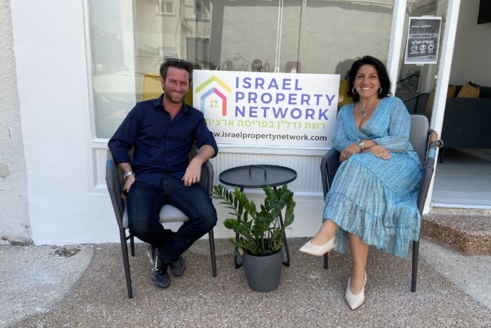 Israel Property Network Sabrina Ziff and Shaun Isaacson